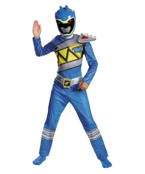 Boys Dino Charge Blue Ranger Costume