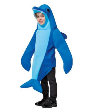 Boys Flipper Dolphin Costume