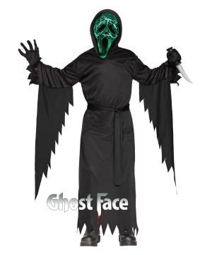 Boys Ghost Face Costume