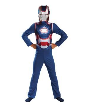 Boys Iron Man Patriot Costume