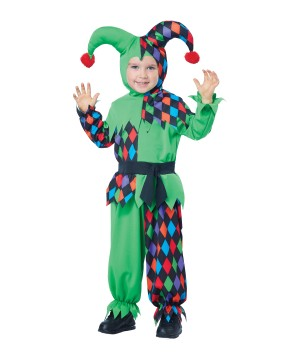 Boys Junior Jester Magical Costume