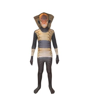 Boys King Cobra Morphsuit Costume
