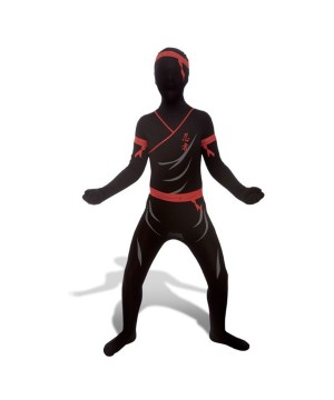 Boys Ninja Morphsuit Costume