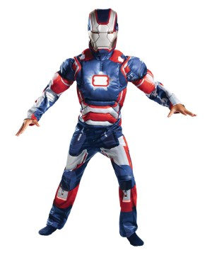 Boys Patriot Light up Costume