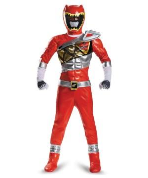 Boys Red Power Ranger Costume