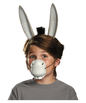 Boys Shrek Donkey Costume Kit