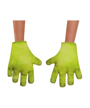 Boys Shrek Hands Gloves