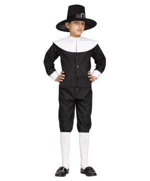 Boys Thanksgiving Pilgrim Costume