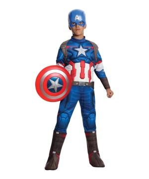 Boys Ultron Captain America Costume