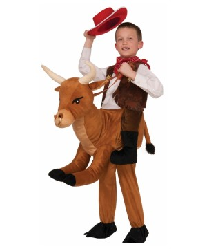 Bull Riding Kids Costume