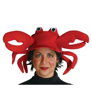Crabby Clawster Crab Hat