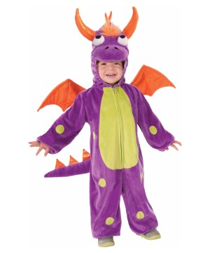 purple dragon toddler monster costume - Baby Monster Halloween Costumes