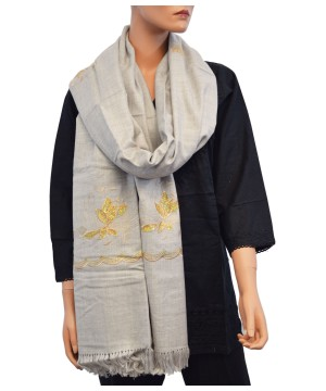 Embroidered Shawl Long Scarf