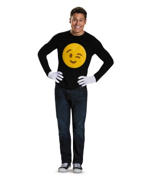 Emoticon Winkie Costume Kit