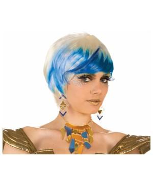 Futuristic Star Frost Wig