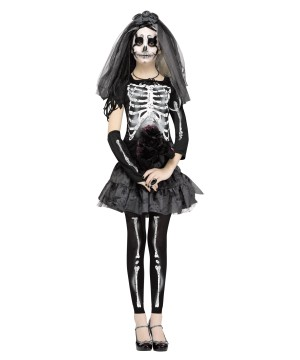 Ghastly Skeleton Bride Costume