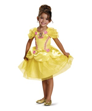 Girls Belle Dress Costume