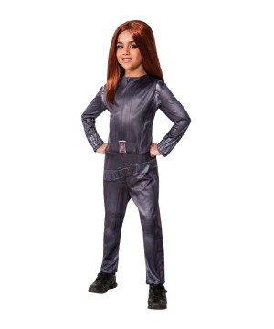 Girls Black Widow Costume
