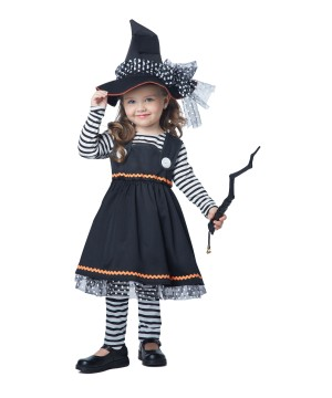 Girls Casting Witch Costume