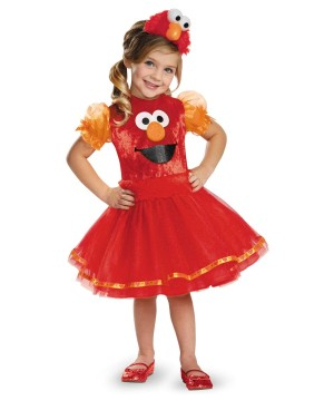 Girls Elmo Tutu Baby Costume