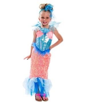 Girls Enchanting Mermaid Costume