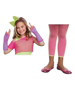 Girls Flashy Costume Kit