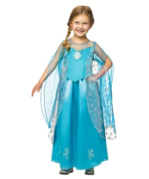 Girls Frozen Queen Baby Costume
