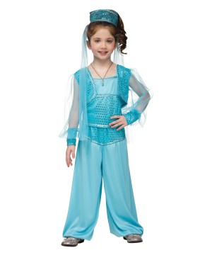 Girls Genie Baby Costume