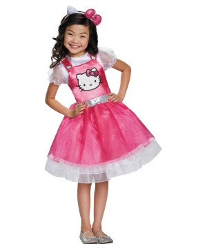 Hello Kitty Classic Girls Costume deluxe
