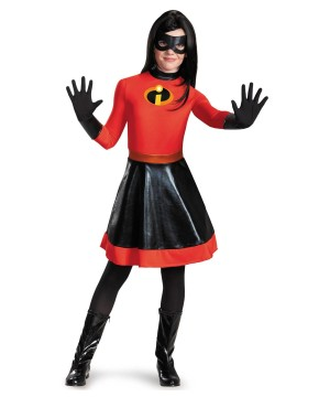 Girls Incredibles Violet Disney Costume