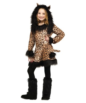 Lovely Little Leopard Girls Costume