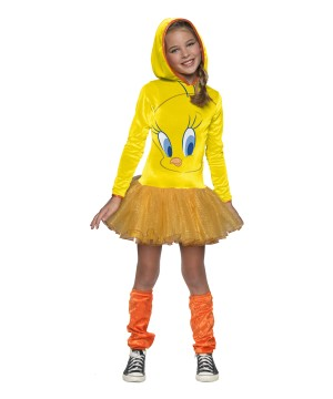 Girls Looney Tunes Bird Costume