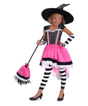 Girls Luna Witch Costume