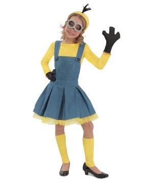 Girls Minions Jumper Costume