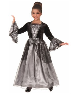 Girls Princess Gothic Costume