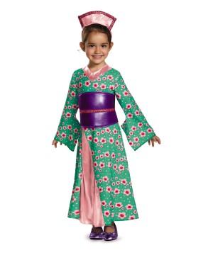Girls Princess Kimono Costume