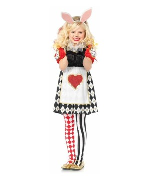 Girls Rabbit in Wonderland Costume