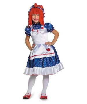 Raggedy Ann Playtime Doll Girls /toddler Costume