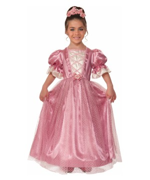 Girls Renaissance Rose Costume