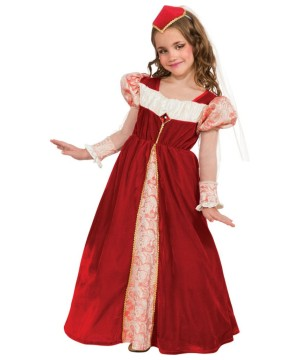 Girls Ruby Jewel Princess Costume