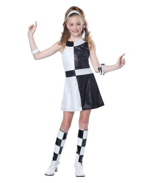 Girls S Mod Chic Costume