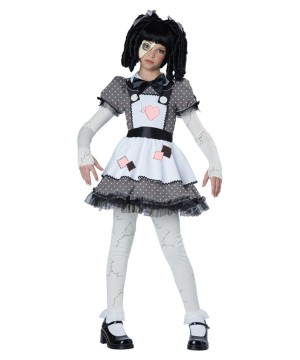 Spooky and Haunted Doll Girls Costume - Scary Costumes