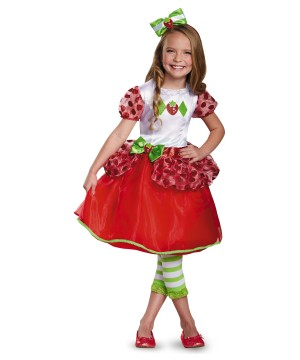 Girls Strawberry Shortcake Baby Costume