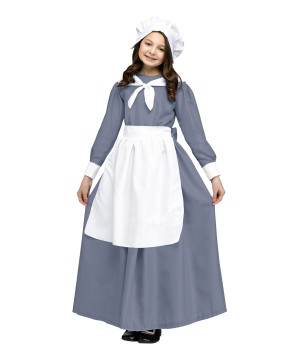 Girls Traditional Pilgrim Costume