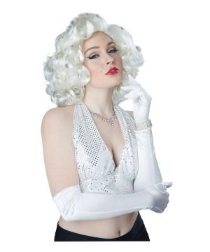 Glitz Glamour Blond Monroe Wig