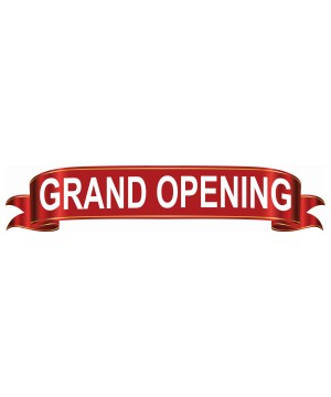 Grand Opening Ceremony Banner