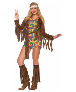 Hippie Shimmy Mini Dress
