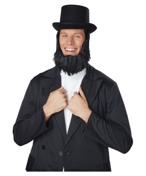 Honest Abe Top Hat Beard