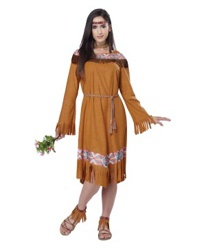Indian Maiden Woman Costume