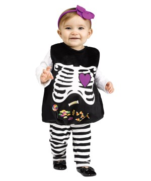 Jelly Skelly Belly Baby Costume